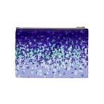 Purple Disintegrate Cosmetic Bag (Medium)  Back