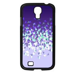 Purple Disintegrate Samsung Galaxy S4 I9500/ I9505 Case (black) by jumpercat