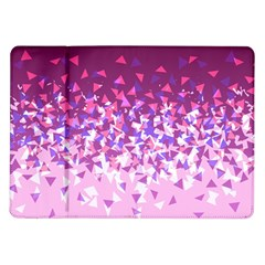 Pink Disintegrate Samsung Galaxy Tab 10 1  P7500 Flip Case by jumpercat