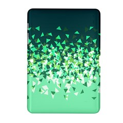 Green Disintegrate Samsung Galaxy Tab 2 (10 1 ) P5100 Hardshell Case  by jumpercat