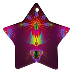 Abstract Bright Colorful Background Ornament (star)