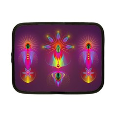 Abstract Bright Colorful Background Netbook Case (small)