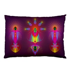 Abstract Bright Colorful Background Pillow Case