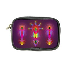 Abstract Bright Colorful Background Coin Purse