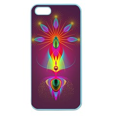Abstract Bright Colorful Background Apple Seamless Iphone 5 Case (color)