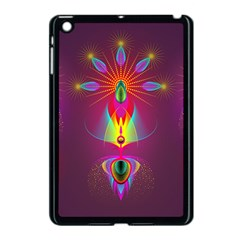 Abstract Bright Colorful Background Apple Ipad Mini Case (black)