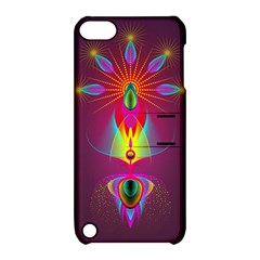 Abstract Bright Colorful Background Apple Ipod Touch 5 Hardshell Case With Stand