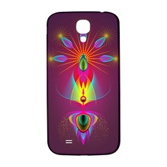 Abstract Bright Colorful Background Samsung Galaxy S4 I9500/i9505  Hardshell Back Case