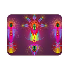 Abstract Bright Colorful Background Double Sided Flano Blanket (mini)