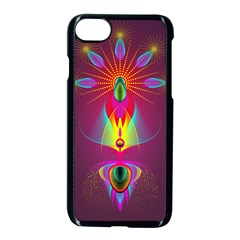 Abstract Bright Colorful Background Apple Iphone 7 Seamless Case (black)