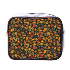 Pattern Background Ethnic Tribal Mini Toiletries Bags
