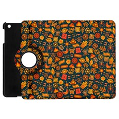 Pattern Background Ethnic Tribal Apple Ipad Mini Flip 360 Case