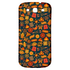 Pattern Background Ethnic Tribal Samsung Galaxy S3 S Iii Classic Hardshell Back Case