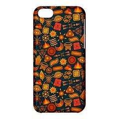 Pattern Background Ethnic Tribal Apple Iphone 5c Hardshell Case by Nexatart