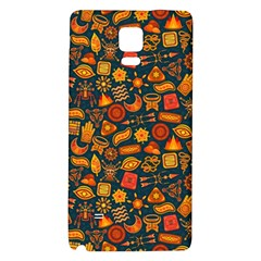 Pattern Background Ethnic Tribal Galaxy Note 4 Back Case
