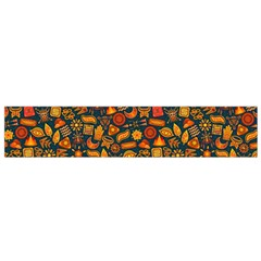 Pattern Background Ethnic Tribal Small Flano Scarf