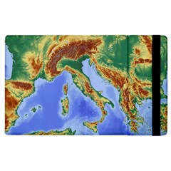Italy Alpine Alpine Region Map Apple Ipad 3/4 Flip Case