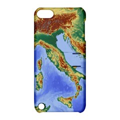Italy Alpine Alpine Region Map Apple Ipod Touch 5 Hardshell Case With Stand