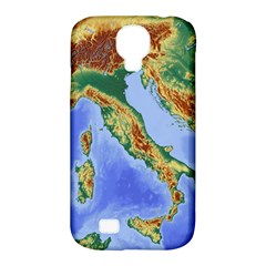 Italy Alpine Alpine Region Map Samsung Galaxy S4 Classic Hardshell Case (pc+silicone)