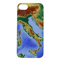 Italy Alpine Alpine Region Map Apple Iphone 5s/ Se Hardshell Case