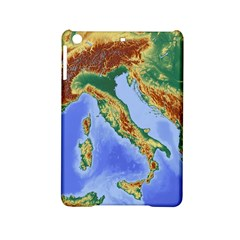 Italy Alpine Alpine Region Map Ipad Mini 2 Hardshell Cases