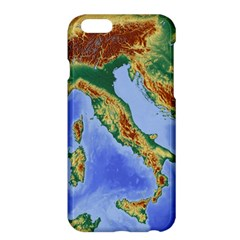 Italy Alpine Alpine Region Map Apple Iphone 6 Plus/6s Plus Hardshell Case