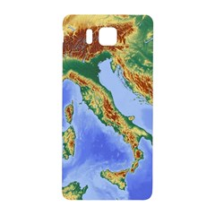 Italy Alpine Alpine Region Map Samsung Galaxy Alpha Hardshell Back Case