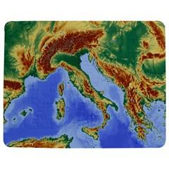 Italy Alpine Alpine Region Map Jigsaw Puzzle Photo Stand (rectangular) by Nexatart