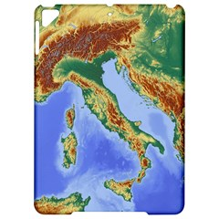 Italy Alpine Alpine Region Map Apple Ipad Pro 9 7   Hardshell Case by Nexatart