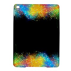 Frame Border Feathery Blurs Design Ipad Air 2 Hardshell Cases
