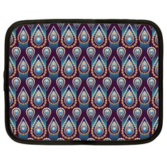 Seamless Pattern Pattern Netbook Case (large)