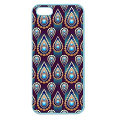 Seamless Pattern Pattern Apple Seamless Iphone 5 Case (color)