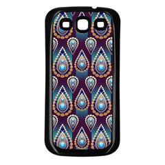 Seamless Pattern Pattern Samsung Galaxy S3 Back Case (black)