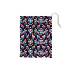 Seamless Pattern Pattern Drawstring Pouches (small)