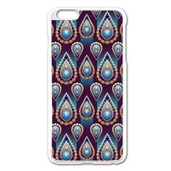 Seamless Pattern Pattern Apple Iphone 6 Plus/6s Plus Enamel White Case