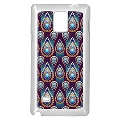 Seamless Pattern Pattern Samsung Galaxy Note 4 Case (white)
