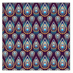 Seamless Pattern Pattern Large Satin Scarf (square)