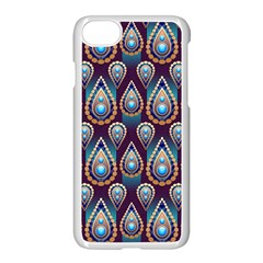 Seamless Pattern Pattern Apple Iphone 7 Seamless Case (white)