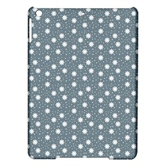 Floral Dots Blue Ipad Air Hardshell Cases by snowwhitegirl
