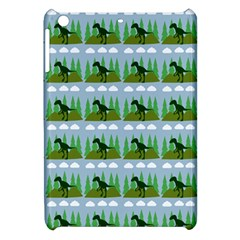 Dino In The Mountains Blue Apple Ipad Mini Hardshell Case by snowwhitegirl