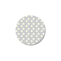 Daisy Dots Grey Golf Ball Marker (10 Pack)