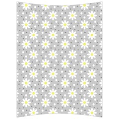 Daisy Dots Grey Back Support Cushion by snowwhitegirl