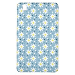 Daisy Dots Light Blue Samsung Galaxy Tab Pro 8 4 Hardshell Case by snowwhitegirl
