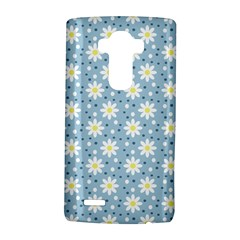 Daisy Dots Light Blue Lg G4 Hardshell Case by snowwhitegirl