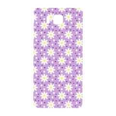 Daisy Dots Lilac Samsung Galaxy Alpha Hardshell Back Case by snowwhitegirl
