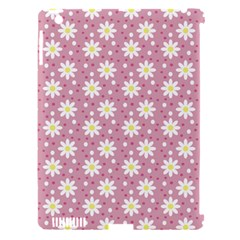 Daisy Dots Pink Apple Ipad 3/4 Hardshell Case (compatible With Smart Cover) by snowwhitegirl