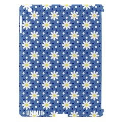 Daisy Dots Blue Apple Ipad 3/4 Hardshell Case (compatible With Smart Cover) by snowwhitegirl