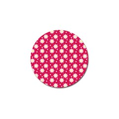 Daisy Dots Light Red Golf Ball Marker (10 Pack) by snowwhitegirl