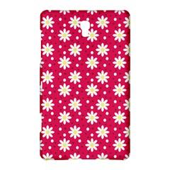 Daisy Dots Light Red Samsung Galaxy Tab S (8 4 ) Hardshell Case  by snowwhitegirl