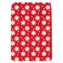 Daisy Dots Red Flap Covers (s)